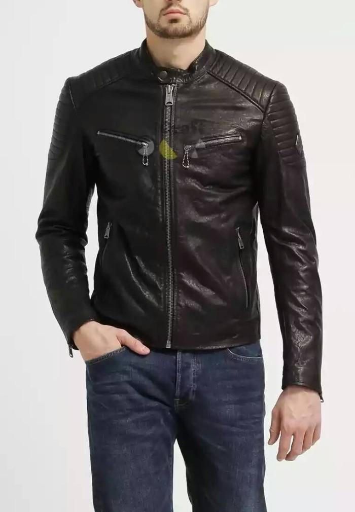 Jual jaket touring motor jaket club motor jaket kulit touring ... 6f01538b91
