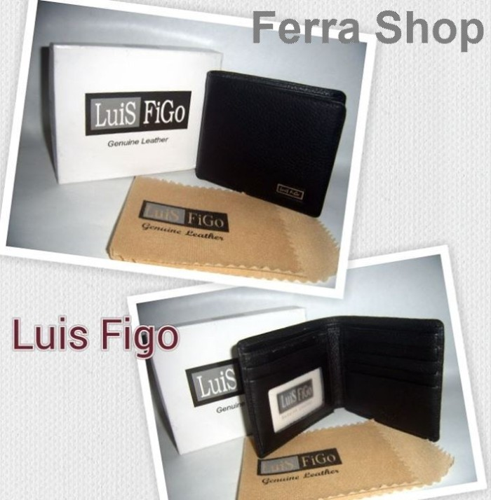 Jual Dompet Cowok   Pria Luis Figo Kulit Asli kode LF-10 - Ferra ... 83c4304f5e