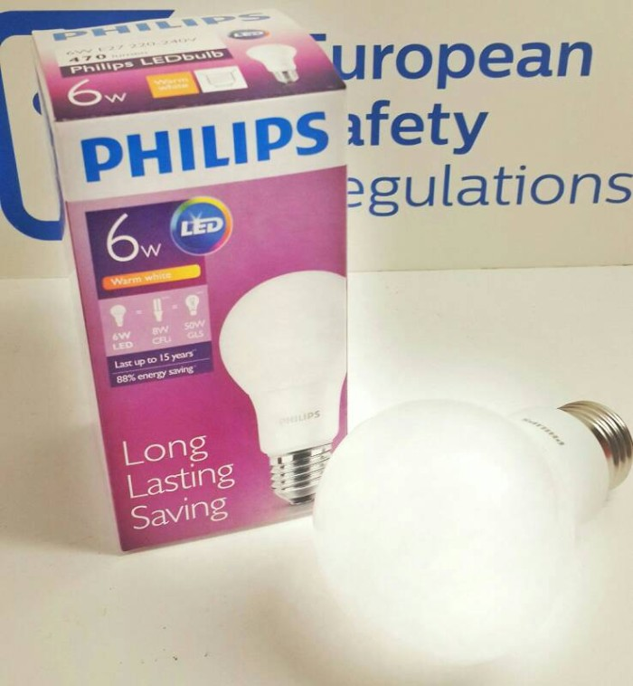 harga Philips led bulb 6w bohlam 6 watt Tokopedia.com