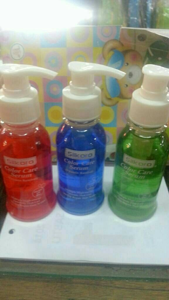 Silkoro Biru Vitamin Rambut 80ml 100 Ori Bpom Daftar Harga Source Jual Color Care Serum Silkoro