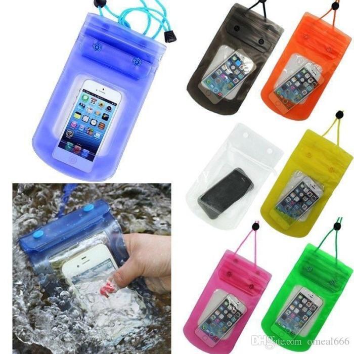 Tas Anti Air ~ Waterproof case ~ Dompet Hp 6 inchi ~ Cover Hp anti air