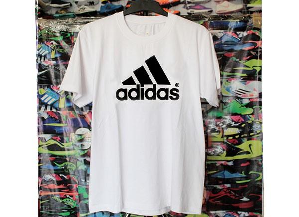 4b0eaf12b73 Jual Kaos Oblong Adidas Putih (Kaos Nike, Kaos Oblong, T-Shirt ...
