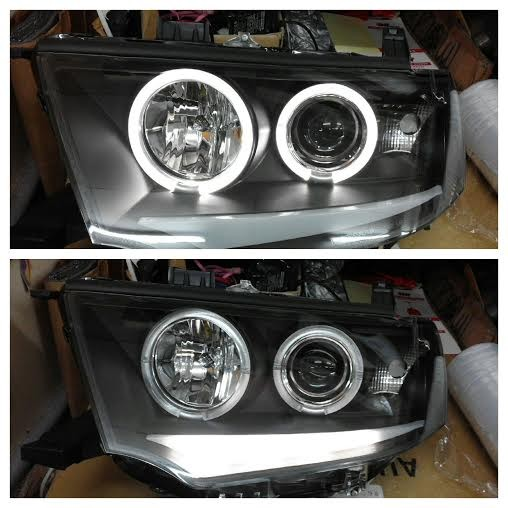 harga Sk3400mrst09-3jm headlamp pajero sport 09-14 projector angel eyes led Tokopedia.com