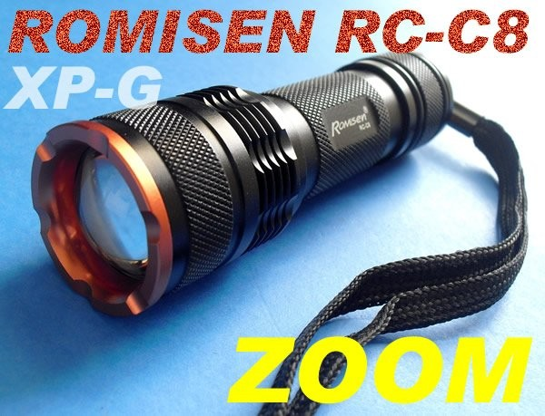 harga Senter cree zoom xp-g romisen rc-c8 sinar warm 3mode 1.2a Tokopedia.com