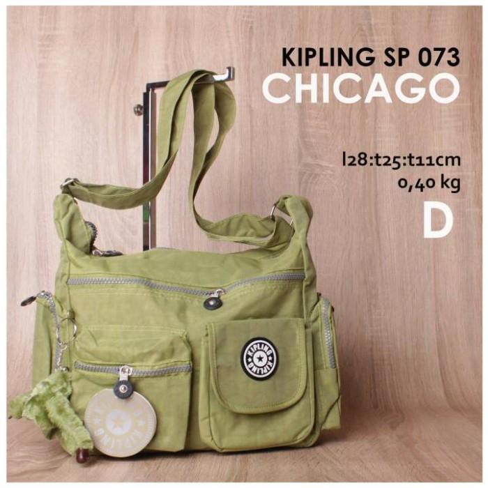 Foto Produk Kipling Chicago ~ Hijau Muda dari Qiran Bag Shop