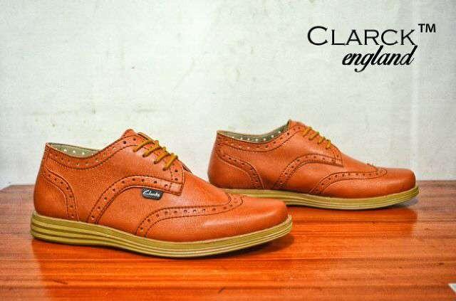 Gudang Sepatu Murah Sepatu Clarks England Tan Hand Made Original  78 fcbf3611da