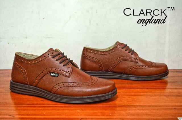 Gudang Sepatu Murah Sepatu Clarks England Brown Hand Made Original  79 a864886a60