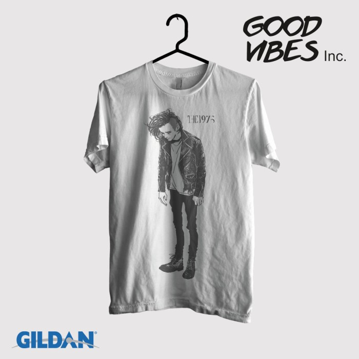 harga Kaos band the 1975  original gildan -  healy stand up Tokopedia.com