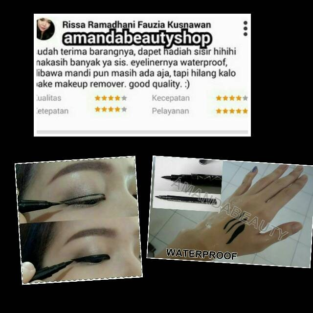 Jual MAC STYLO EYELINER SPIDOL BLACK WATERPROOF