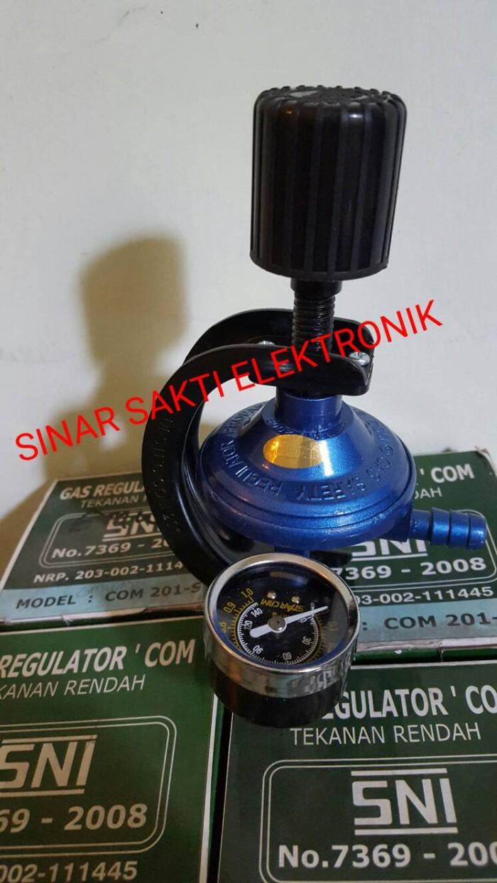 Regulator Gas Com 201 M Destec Tekanan Rendah Meter 201m Com201 Lpg