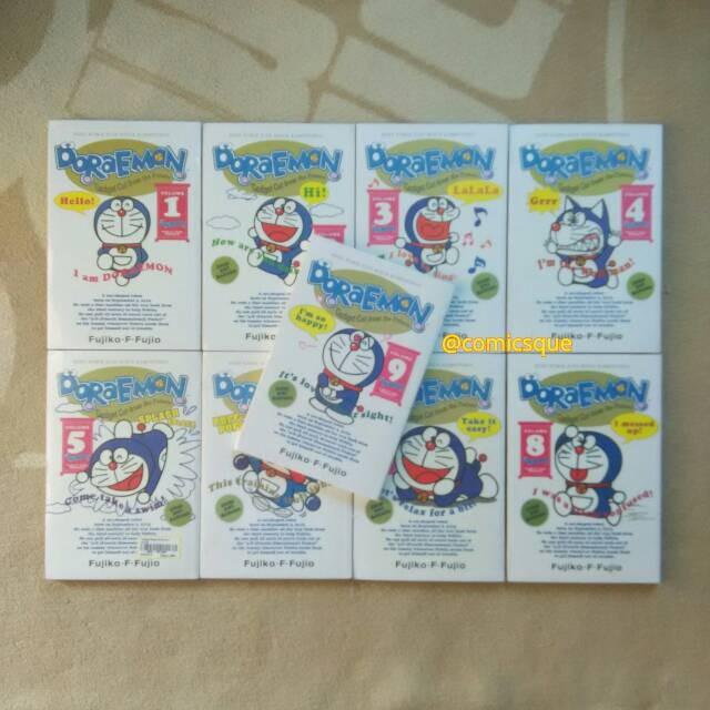 Jual Komik Doraemon Dwi Bahasa Indonesia Inggris 1 9 Tamat Segel