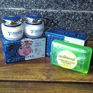 Cream Pembersih Jerawat & Pemutih Wajah DEONARD 7 Day