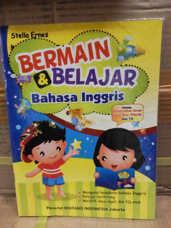 Foto Produk Buku Anak PAUD dan TK, belajar Bahasa Inggris dari ALIDA