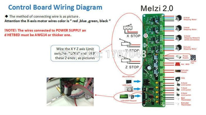 Jual 3D Printer Mainboard Melzi 2 0 1284p Firmware Repetier-Zonestar P802M  - Kota Batam - muratronika | Tokopedia