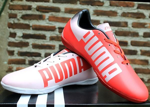 Jual Jual Sepatu Futsal Puma Evospeed 2.0 Putih Merah Murah - Kumis ... a48f432b7b