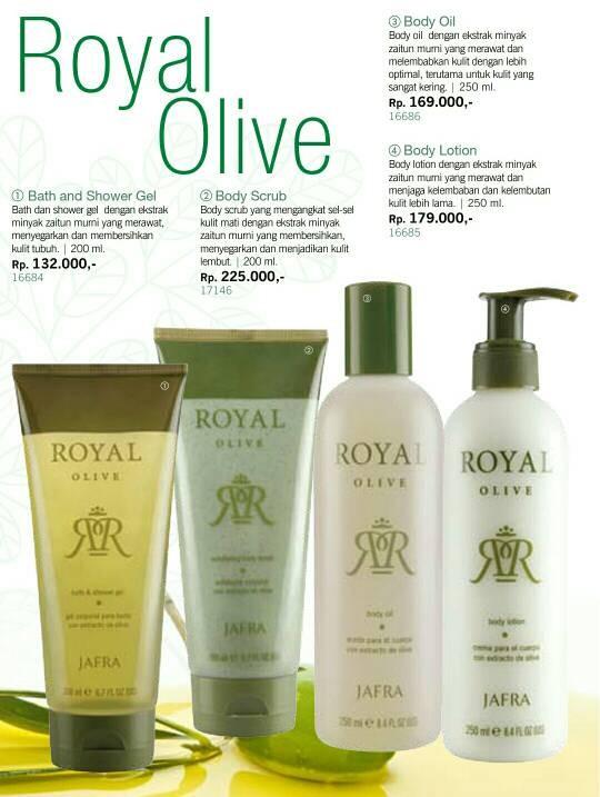 ... JAFRA Royal Olive Body Oil