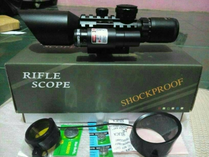 Jual teleskop senapan angin accurate m9 el nino shop tokopedia