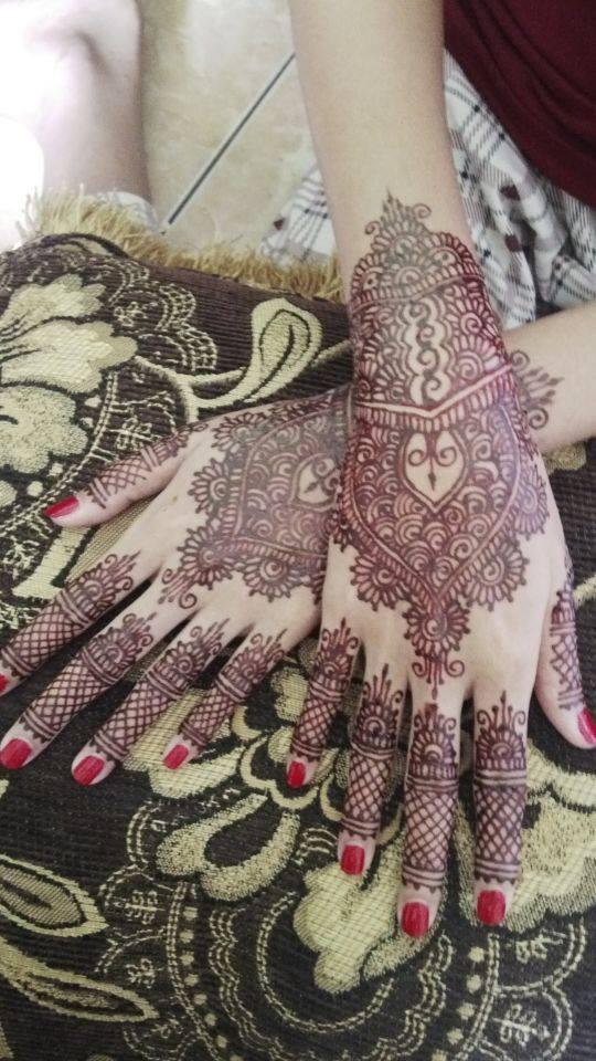 Jual Henna Pengantin Murah Jakarta Timur Bekasi Zeida Henna