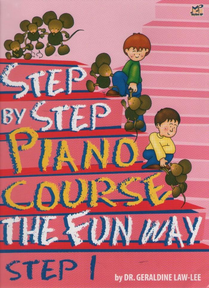 harga Buku piano - step by step piano course the fun way step 1 Tokopedia.com