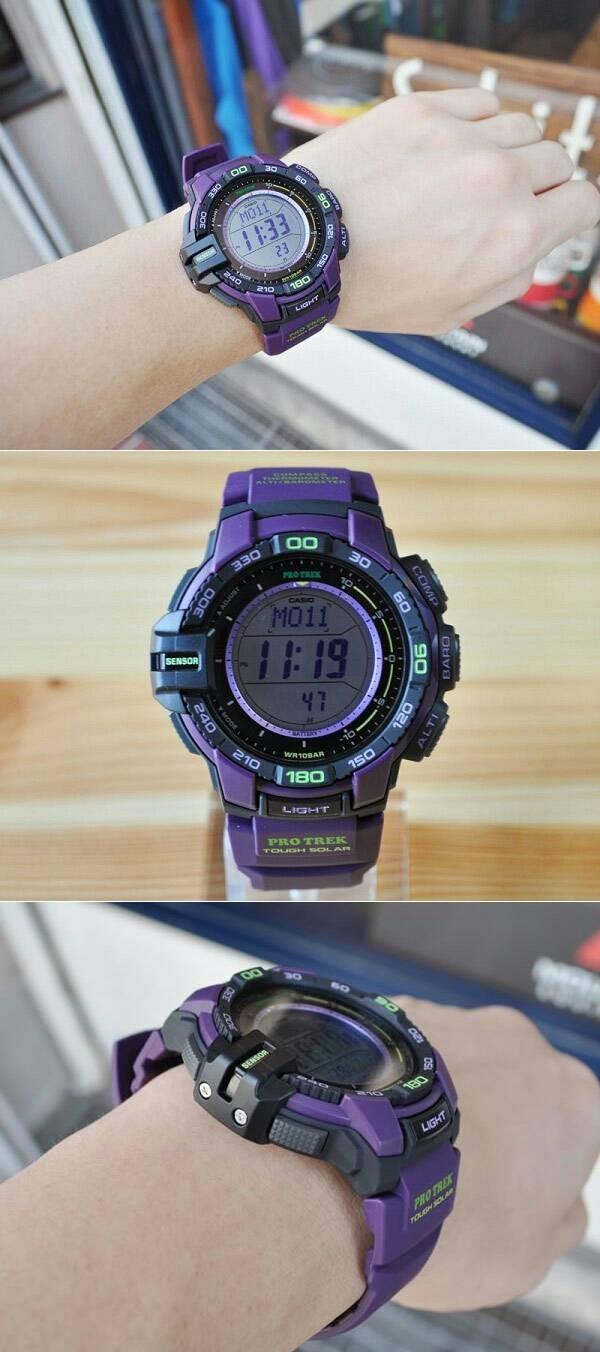 Jual Jam Tangan Casio Protrek Original Pria Prg 270 6a Dadshop Protek 260 2 Blue Strap Resin