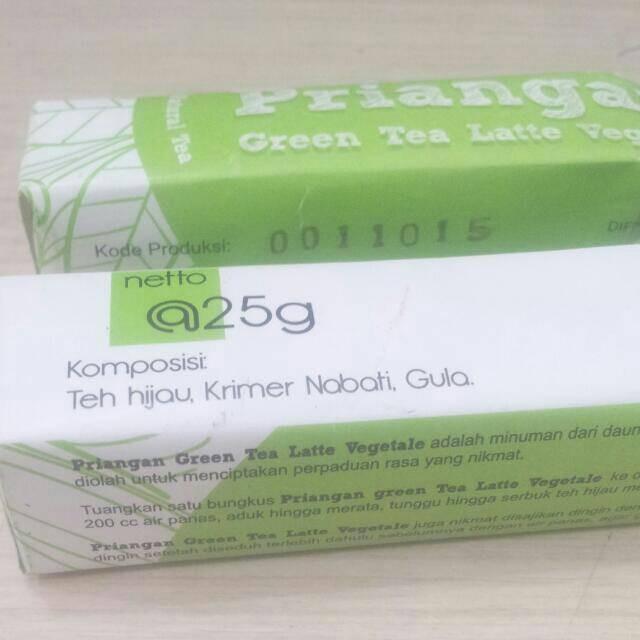Jual Hanjuang Green Tea Latte