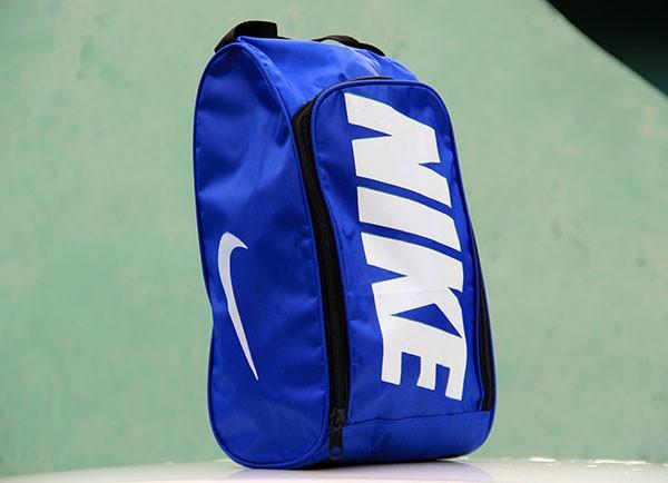 Jual Tas Sepatu Nike Biru Text white (murah 88adaeffe7