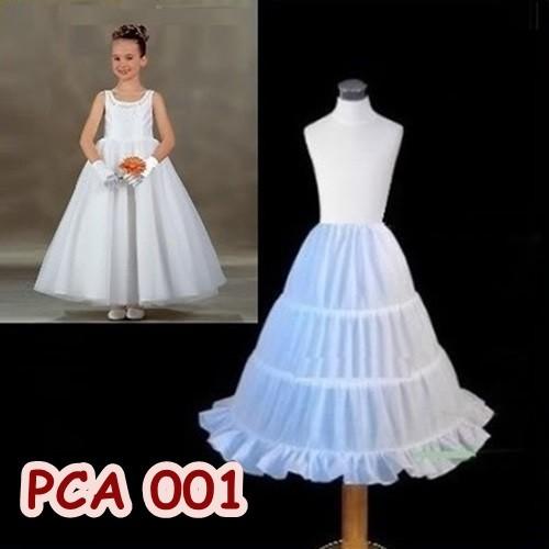 harga Petticoat anak l rok tutu pengembang gaun pesta anak 3 ring - pca 001 Tokopedia.com