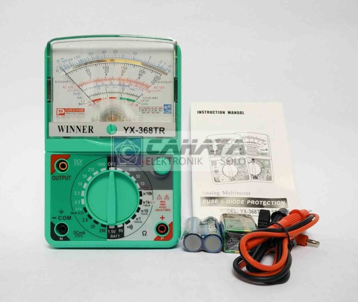 Multitester Multimeter Analog Winner 368