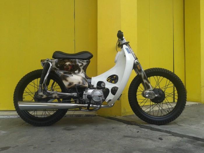 Jual Motor Honda C70 Street Cub