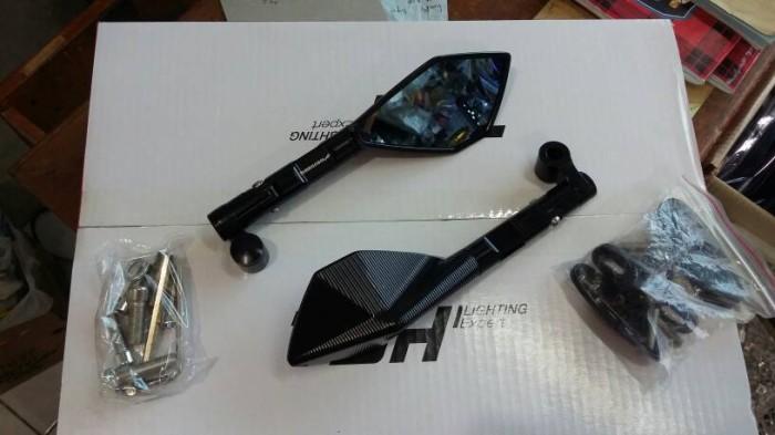 harga Spion tomok cnc full hitam dan kaca biru jadi mata gx silau Tokopedia.com