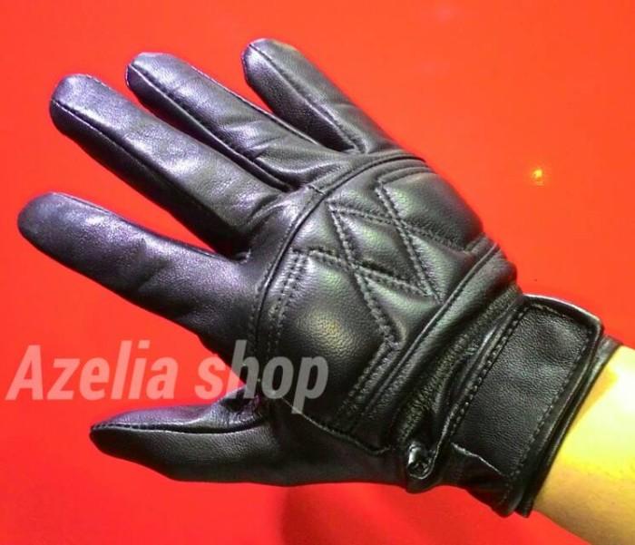 harga Sarung tangan motor full jari kulit domba asli garut Tokopedia.com
