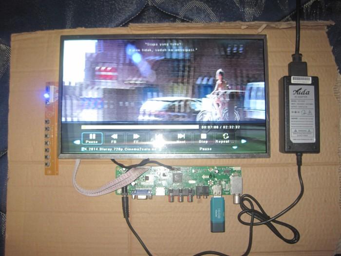 Jual Universal board LED / LCD TV MONITOR PAKET KOMPLIT UNTUK PANEL LED -  Kota Semarang - TRYCOM | Tokopedia