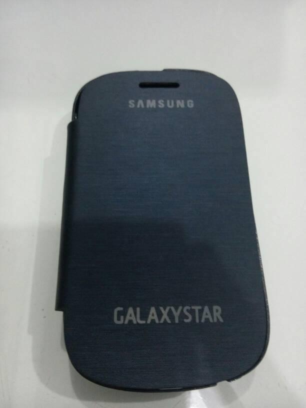 harga Flip cover samsung galaxy star s5280 / s5282 biru tua Tokopedia.com