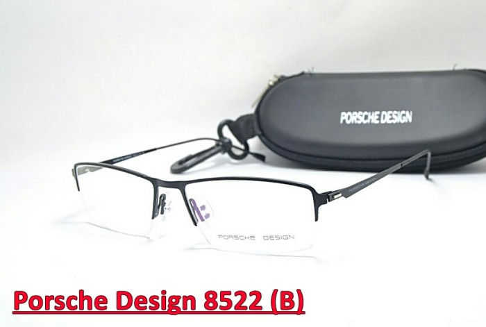 Jual FRAME KACAMATA HALF - Porsche Design 8822 - Baca Minus - Optik ... 7a8817d98a