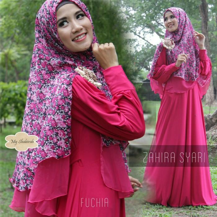 Jual Agz Gamis Zahira Set Dress Busana Muslim Wanita Dan Baju