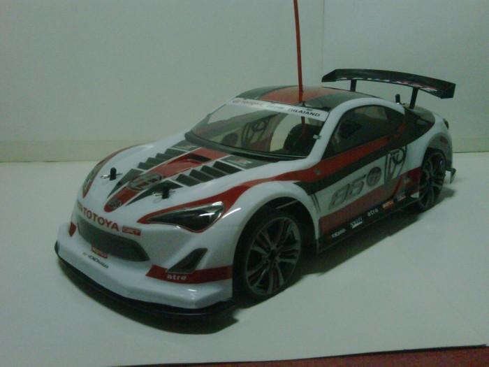 Jual Hachiroku Toyota 86 Gt Type 4wd Rc Drift Dobel Power 1 10