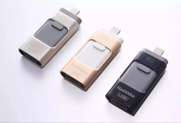 harga Flashdrive 16 gb flashdisk otg untuk ios android dan windows Tokopedia.com