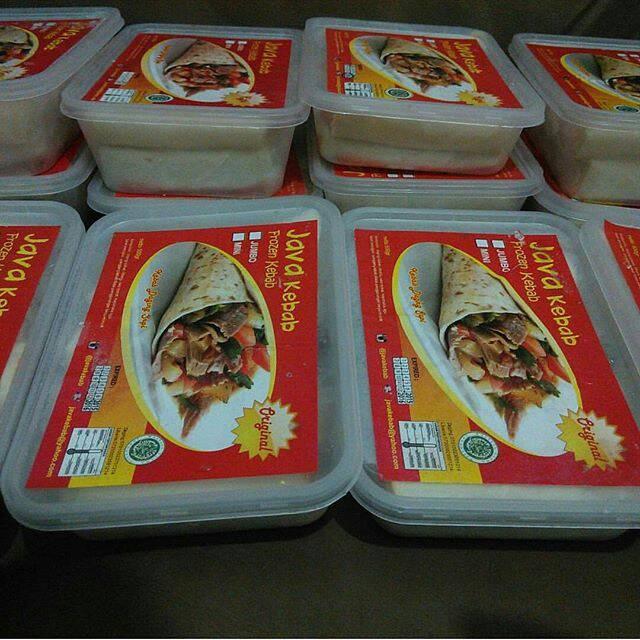Foto Produk Kebab Frozen Isi 20 Rasa Original dari Kebab Mini Frozen Food