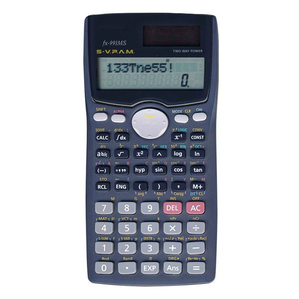 harga Kalkulator scientific murah 2 baris tulisan fx 991 ms calculator Tokopedia.com