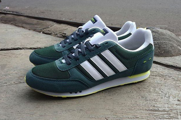 ... good adidas neo city racer green original 33eae c568a c89b29854