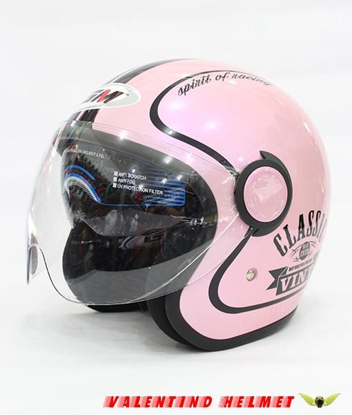 HELM GM Vint Classic Pink 1
