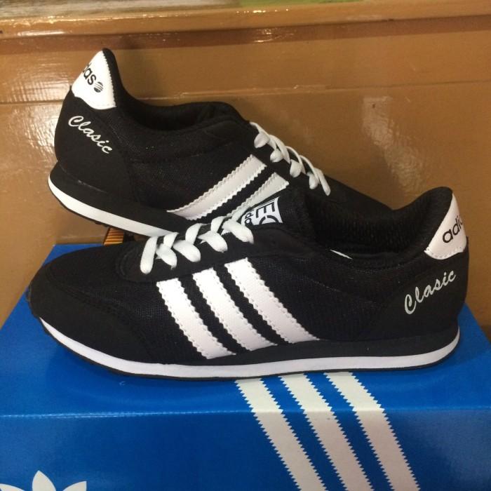 Jual Sepatu Adidas Neo Classic Hitam