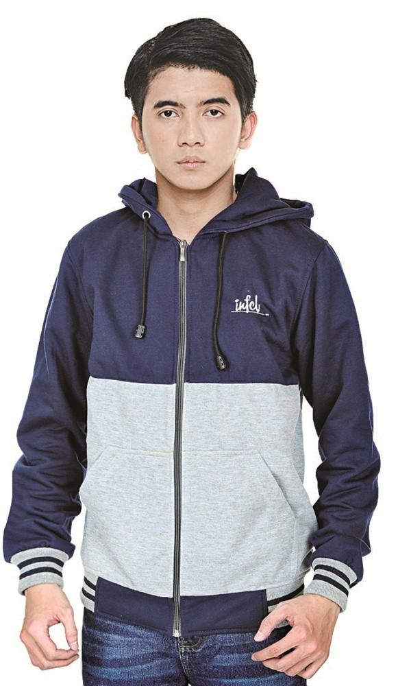 harga Jaket hoodie cowok jaket pria jaket laki-laki bahan fleece Tokopedia.com