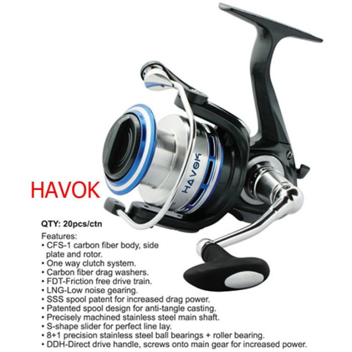 harga Reel ecooda havok has 3500 Tokopedia.com