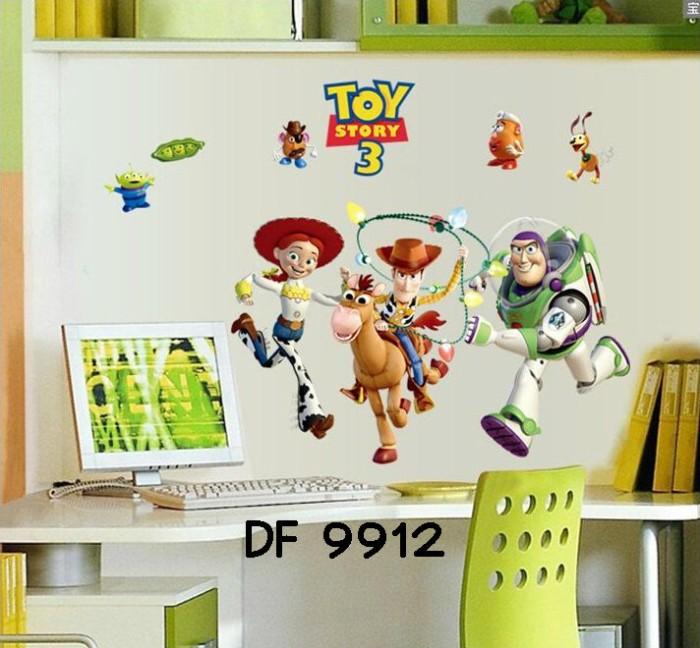 "Foto Produk Wallsticker Model DF 9912 ""Toy Story"" dari Aswanesher Shop"