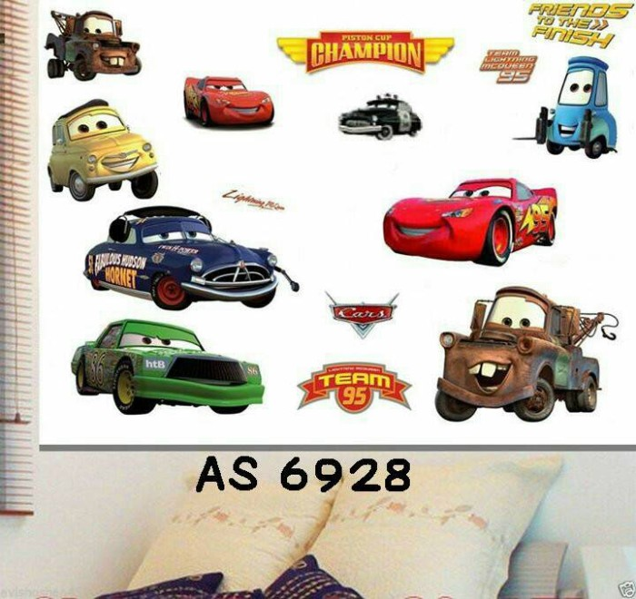 "Foto Produk Wallsticker Model AS 6928 ""Cars"" dari Aswanesher Shop"