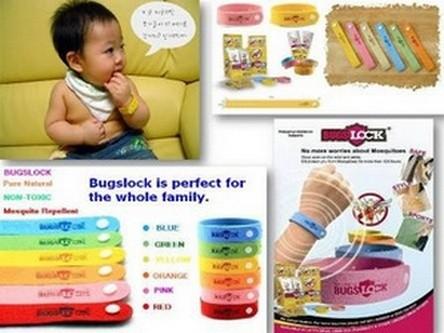 Foto Produk gelang nyamuk bugs lock anti serangga kids baby anak dewasa mosquitto dari GizelShop