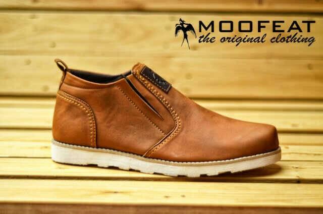 Sepatu slop moofeat pria original hand made bandung