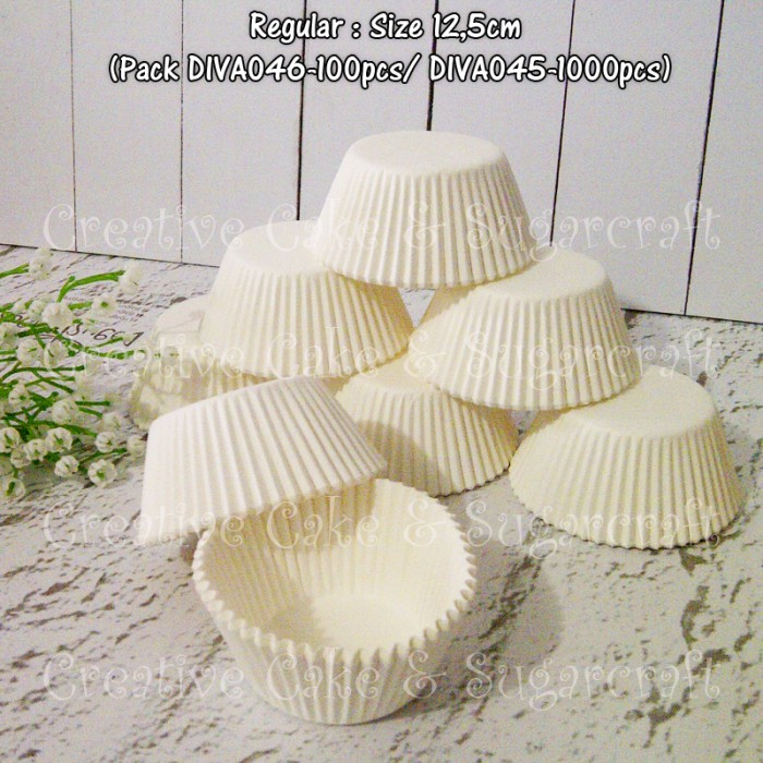 harga Tempat cupcake 125cm 1000pc (white) Tokopedia.com