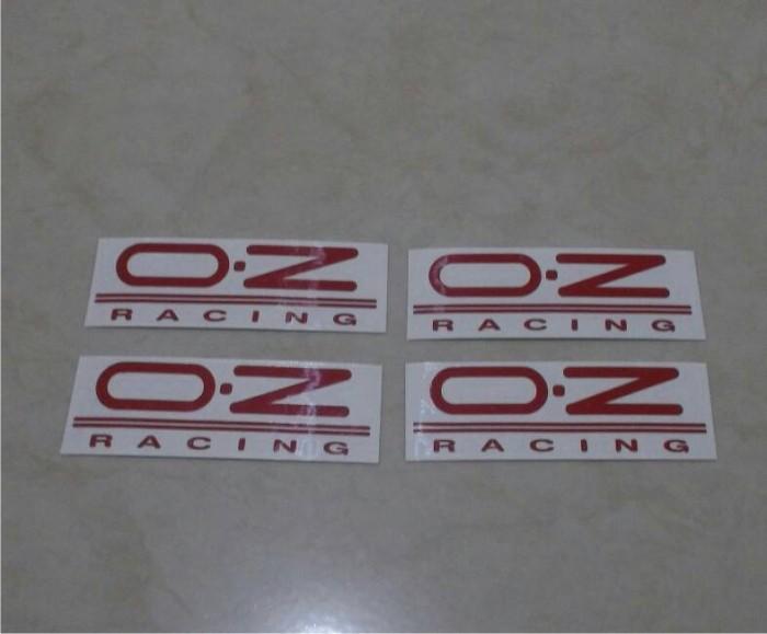 harga Sticker velg oz racing merah Tokopedia.com